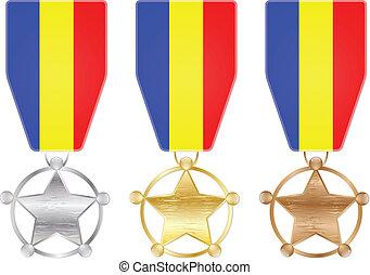 Romania medals
