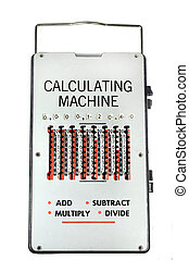 1960 vintage calculating machine