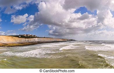 Brighton coast, Great Britain - Roedean School, southern...