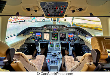 Cockpit View Aircraft