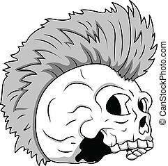 Skull Tattoo Illustration