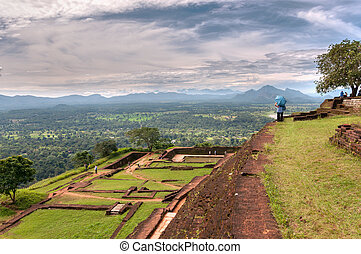 Sigiriya - View from Sigiriya Rock Temple, Sri Lanka