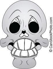Royalty Free Vector - Funny Skull