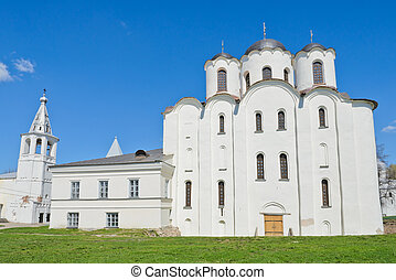 St. Nicholas Cathedral at Yaroslav's Court in Veliky...