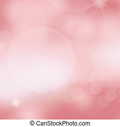 Soft pink light abstract background