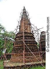 Reconstruct Pagoda