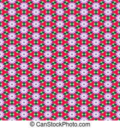 flower shape pattern