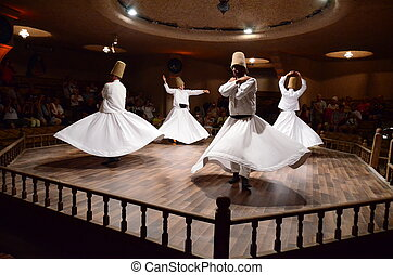 Whirling dervishes - Photo of dervish ceremony