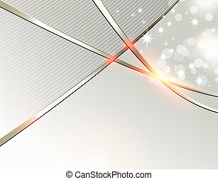 Abstract festive background - Silver gray Christmas template...