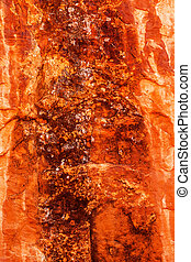Brown Yellow Orange Rock Canyon Abstract Devils Garden...