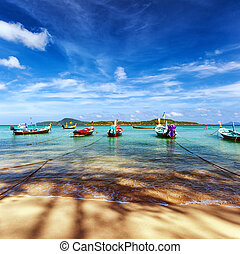 Thailand tropical beach exotic landscape
