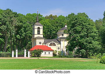 Church. Village Spassky-lutovinovo.