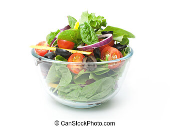 Salad in a bowl