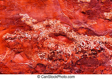 Red Rock Canyon Abstract Devils Garden Arches National Park...
