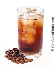 Iced Coffee - Are you feeling sleepy? Come on, let's have a...