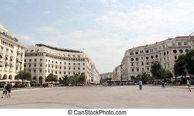 aristotelous square Thessaloniki Greece