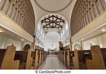 Mt Angel Abbey Church Interior - Mt Angel Abbey Catholic...