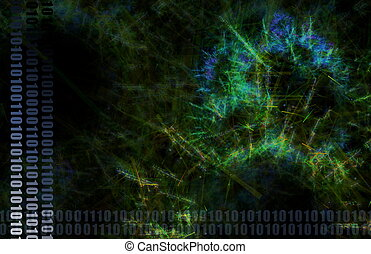 Blue World Wide Web Abstract