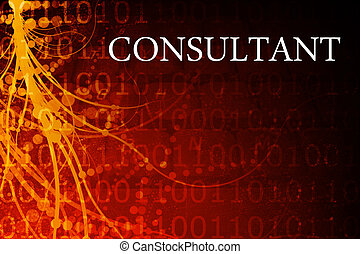 Consultant Abstract Background in Red and Black