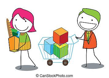 shop couple