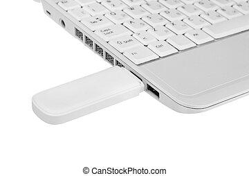 computadoras portátiles, Wi - fi, módem