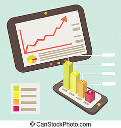 Business Graphic Notification Smart - Good business results...