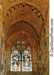 Roslyn Chapel, Edinburgh, Scotland