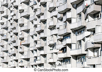 Balconys on a high rise