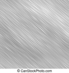 Silver Brushed Metal