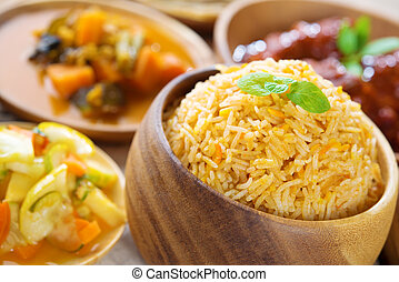 Indian Biryani rice - Biryani rice or briyani rice, fresh...