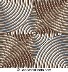 Circular Metal Pattern