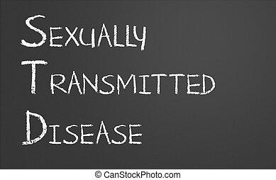 sexualmente, transmitido, doença