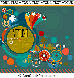 abstract background - abstract stylish background with...