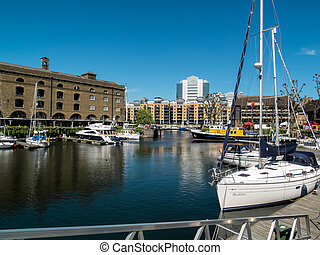 St Katherines Dock London