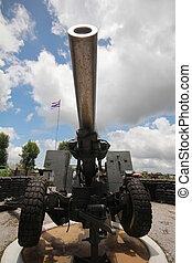 artillery - Artillery weapons for defense.