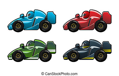 formula 1 - illustration of car