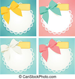 Cute gift box - Vector File EPS10