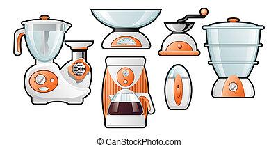 household goods - illustration of the household goods
