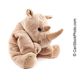 Rhinoceros rhino plush toy - Rhinoceros rhino stuffed plush...