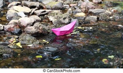 Paper boat in the river episode 2