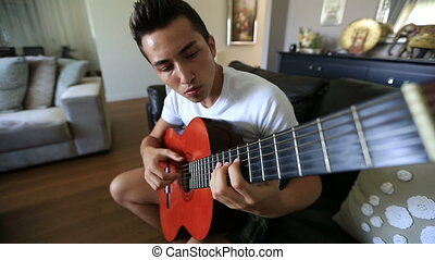 playing guitar 3
