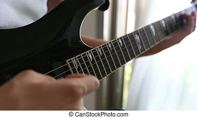playing guitar 9
