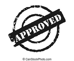 Stamp \\\'Approved\\\'