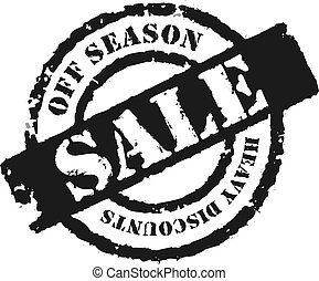 Stamp Off Season Sale - An effective way to announce the a...