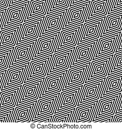 Seamless geometric diagonal pattern. Vector art.