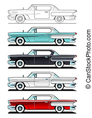 Classic Cars - 60s - part of collections of Car body style...