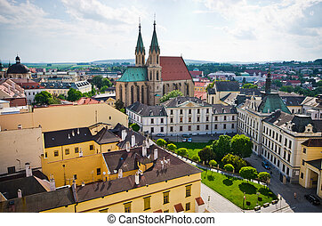 St. Moritz cathedral in Kromeriz, Czech Republic - St....