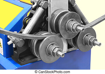 Bending of pipes - Special machine for bending square pipes