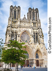 Cathedral Notre Dame Reims France - Picture of the cathedral...