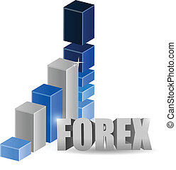business forex graph illustration